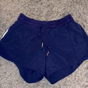 Lululemon Navy Shorts 4 Tall